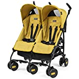 Peg Perego DPMTA1MYEL Zwillingsbuggy Pliko Mini Twin, mod yellow