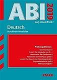 Abi - auf einen Blick! Deutsch NRW 2019