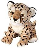 Wild Republic 16393 - Waza - Biodiversity is us - Gefährdete Tierarten -  Plüschtier Gepard, 25 cm