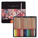 Newdoer Marco Renoir 24couleurs à l'huile Crayons de couleur pour le dessin...
