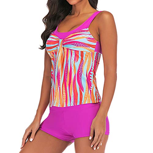 Asalinao Womens gepolsterte Push-up-BH Bikini Set Badeanzug Badeanzug Bademode Beachwear
