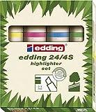 Textmarker Edding Ecoline 244 4Er-Set Nachfüllbar