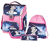 Schneiders ViennaToolbag Plus 4 teiliges Ranzenset Pretty Kira mit LED
