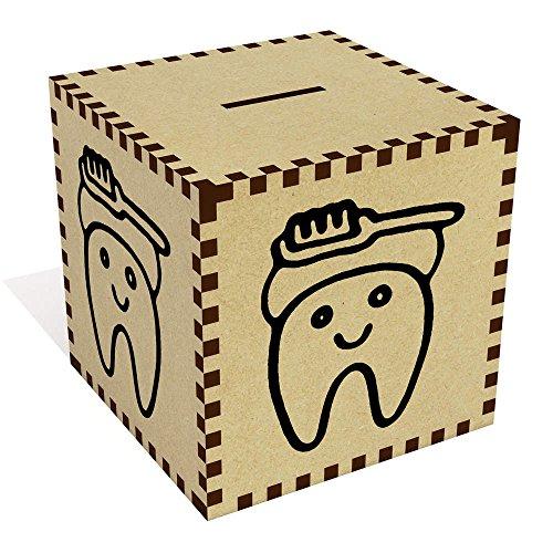 Groß 'Zahn und Pinsel' Sparbüchse / Spardose (MB00055508)