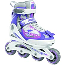 Roces - Patines, tamaño 38 - 41 cm, color blanco - morado