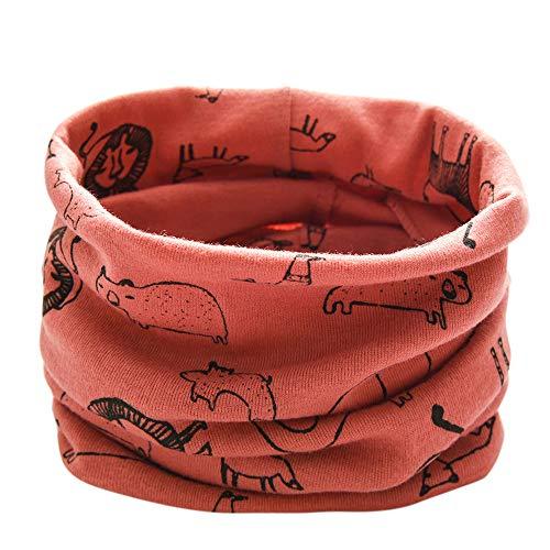 Longra Schals Kinder Baby Jungen Mädchen Baumwolle Schal O Ring Hals Baby Schals Herbst Winter Kinder Baumwollschals Warme Schals loop schal Hals Wärmer(0-3Jahre (C7)