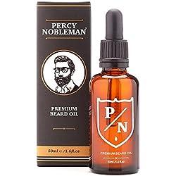 Aceite para barba de Percy Nobleman-PREMIUM aroma mezcla (50ml)