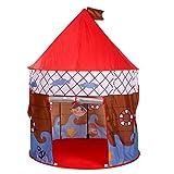 LJJ Kinder Kinder Spielen Schlosszelt Faltbare Pop Up Zelt Spielzimmer Spielzeug Haus für Geburtstag und Weihnachten Indoor und Outdoor als Geschenke