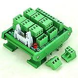 ELECTRONICS-SALON montaje en carril DIN 8canal Sensor señal Plugable Terminal Módulo de distribución.