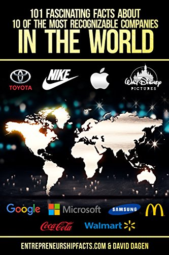 101 Fascinating Facts About 10 Of The Most Recognizable Companies In The World: Walt Disney, McDonald's, Google, Apple, Nike, Coca-cola, Walmart, Microsoft, Samsung, Toyota (English Edition)