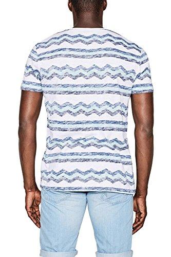 edc by Esprit 067cc2k035, T-Shirt Uomo Bianco (White 100)