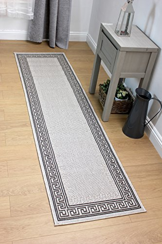 Lord of Rugs Moderno Tejido Plano Alfombra en 60 x 230 cm 2 'x 7' 7