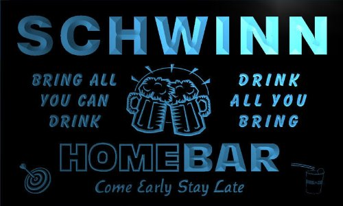 q40225-b-schwinn-family-name-home-bar-beer-mug-cheers-neon-light-sign