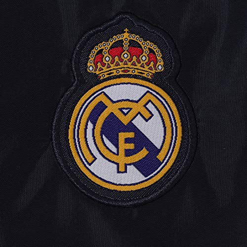 1bd4e5e54a5f2 Real Madrid - Chaqueta cortavientos oficial - Para niño - Impermeable - 10  años