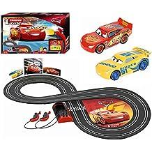 Carrera First Rayo Mcqueen, Dinoco Cruz Disney·Pixar Cars circuito de coches (20063010)