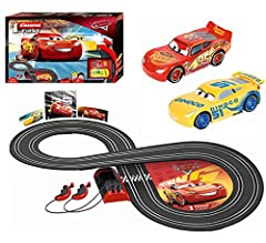 Idea Regalo - Carrera Disney·Pixar Cars-First, Colore Nero, 2.4 m, 20063010