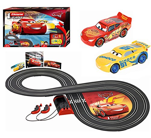 Carrera Disney·Pixar Cars-First, Colore Nero, 2.4 m, 20063010