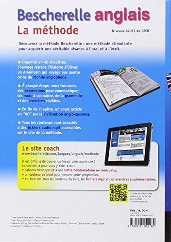 Bescherelle Anglais La méthode: Méthode d'anglais : débutants - niveau intermédiaire (Bescherelle langues)