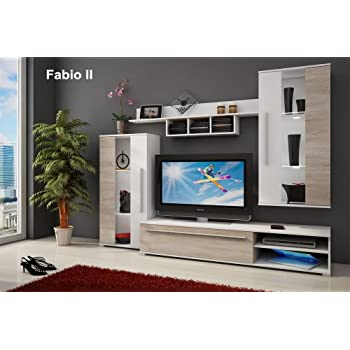 Wall Unit   FABIO II   TV Table   Entertainment Unit   TV Stand   Living  Room Furniture Set