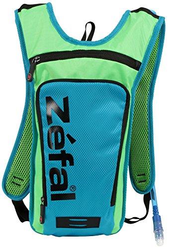 Zefal Z Hydro Radfahren/Walking Hydration Tasche Rucksack mit 1,5L Blase M blau/grün