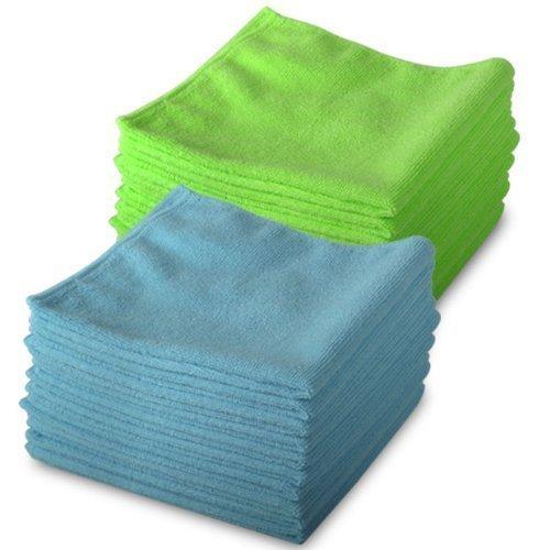 & 10 verdi, 10 blu-nuovo in microfibra exel magic per pulizia cloths. chimici pulizia. è antibatterico panni in microfibra per una pulizia