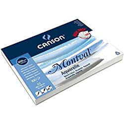 Canson Aquarellpapier, perfekt zum Üben oder Farbkarten