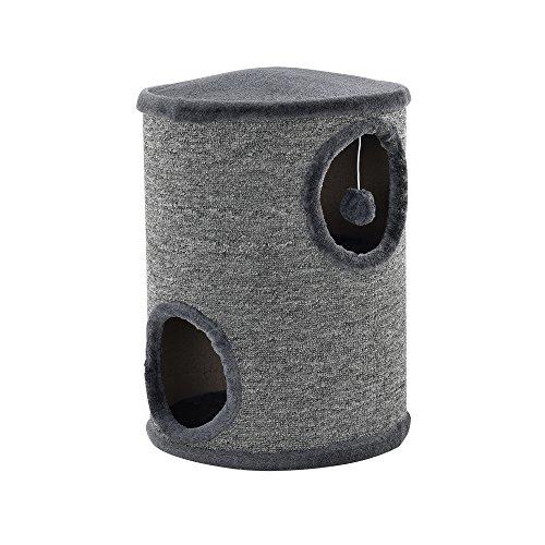 Mueble para gatos - Rascador barril para gatosEs un lugar de descanso perfecto para su gatito, es adecuado para el estiramiento y el rascado. Gracias a su estructura, a su material y a los hilos de juego, el gatito no se va aburrir.  Características:...