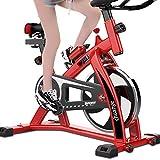 Shocly Spinning Bike F-Bike Fahrradtrainer Heimtrainer Faltbares Fitnessbike Profi Indoor Cycle Speedbike Fitness Haushalt PlastizitäT