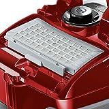 Siemens VSQ8PET Bodenstaubsauger Q 8.0 animalSpecialist EEK C (powerSensor Technology, quattroPower Technology, Turbobürste) red pepper - 6