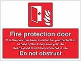 Caledonia Schilder 11075K Fire Schutz Tür nicht Behindert