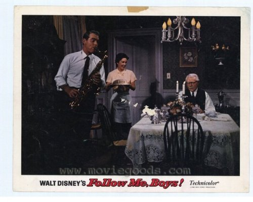 Follow Me Boys Plakat Movie Poster (11 x 14 Inches - 28cm x 36cm) (1966) C