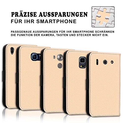 Wallet Book Style Flip Handy Tasche Case Schutz Hülle Schale Motiv Etui für Apple iPhone 6 / 6S - Variante UMV20 Design12 Design 11