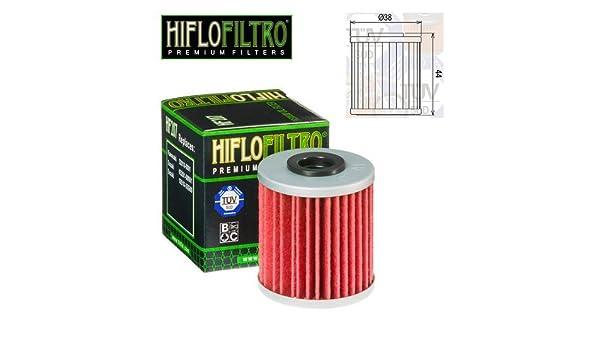 Filtro Olio Hiflo HF207 Ø 38x44