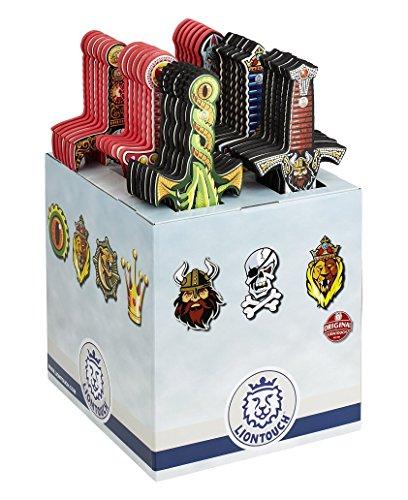 Liontouch 29600LT Karton-Display mit 36 ausgewählten Schaumstoff ()