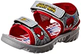 Spiderman Boy's Grey and Red Sandals and Floaters - 5 kids UK/India (22 EU)