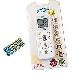 HQRP Télécommande universelle de Climatiseur Mural / Air conditionné