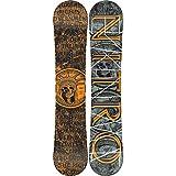 Nitro Snowboards, Tavola da snowboard Swindle Uomo, Blu (schwarz - schwarz/orange), 142 cm