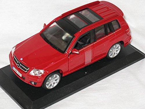 Preisvergleich Produktbild Mercedes-Benz Glk-klasse Glk X204 Rot 1 / 32 Bburago Burago Modellauto Modell Auto