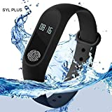 mobicell M2 BAND BLACK234 Smart Band Heart Rate Sensor Bluetooth 4.0 Activity Tracker