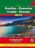 Freytag Berndt Autoatlanten, Kroatien-Slowenien Superatlas, Spiralbindung - Maßstab 1:150 000