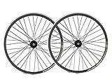 Laufradsatz für Räder mit festem Gang ohne Gangschaltung, 30-mm-Reifen mit Joytech Flip-Flop-Track-Naben, JOYTECH Flip Flop, Schwarz , 28