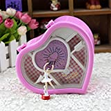 Curtis Toys Heart Shaped Musical Box With Dancing Girl (Pink)