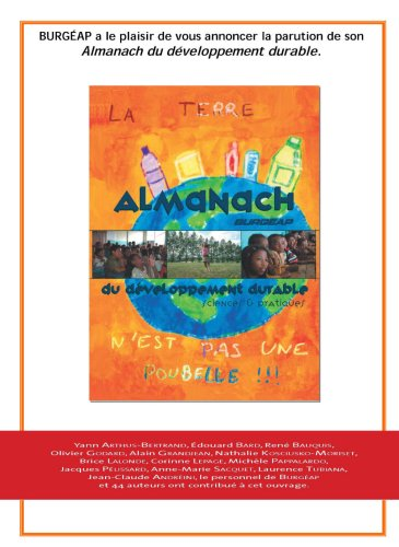 Almanach BURGEAP du Développement durable : Sciences et pratiques