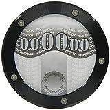 Richbrook-Portabollo di circolazione, 4700,04 disco/porta, colore: nero anodizzato