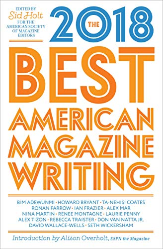 The Best American Magazine Writing 2018 (English Edition)