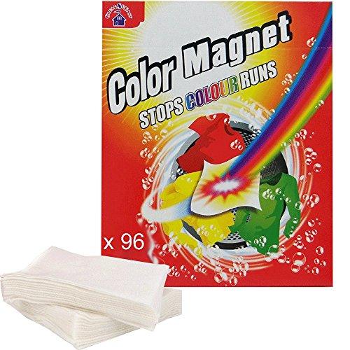 (bietet Eco) x 96Tücher gegen Verfärbungen Color Magnet cleansoeasytm