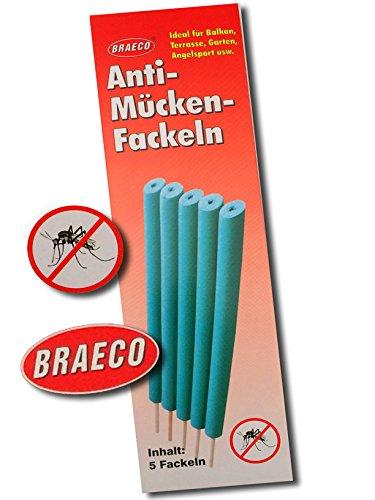 10x Anti Mücken Fackeln giftfreier Mückenschutz Insekten Schutz Moskito Fackel