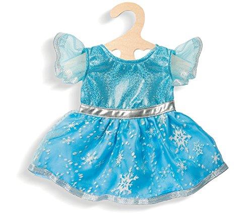 Kleid 'Eis-Prinzessin', Gr. 28-35 cm, 1 Stück (Eis Prinzessin Kleid)