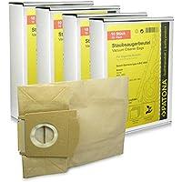 Megapack - 40x Sacchetti per aspirapolvere carta per SIEMENS A B C   VS Serie   Black energy   Krups 902 - 908   Kärcher VC 6000 - VC 6999   Privileg 064.795   065.107   069.178   102.802   329.074 - Serie 908