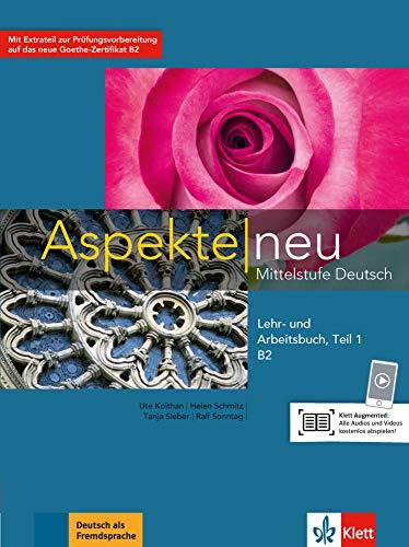 Aspekte neu in Halbbanden: Lehr- und Arbeitsbuch B2 Teil 1 mit CD (ALL NIVEAU ADULTE TVA 5,5%)